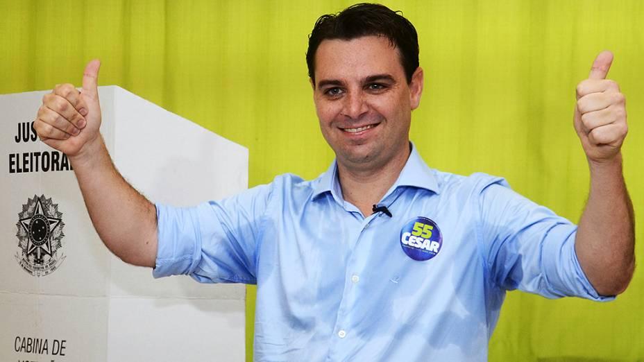 César Souza Júnior (PSD) é o novo prefeito eleito de Florianópolis