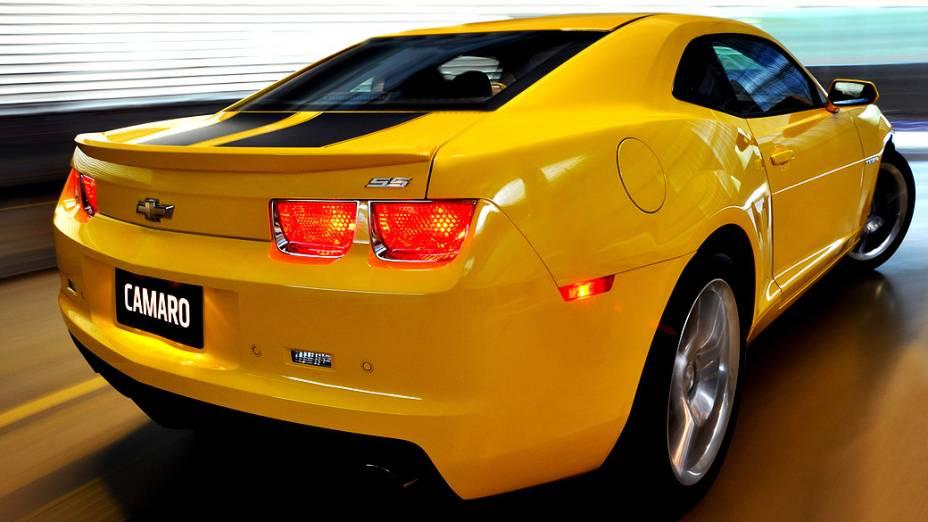 A produção do Camaro começou de fato só em fevereiro de 2009, após muitas especulações e alguns adiamentos. O carrão é fabricado pela General Motors do Canadá