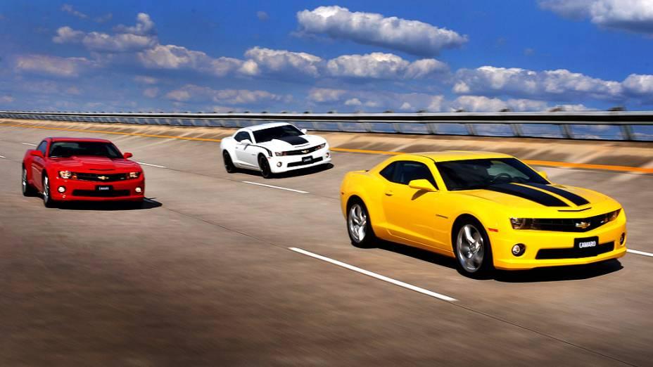 Mas se, no fim das contas, o amarelo não é a sua cor favorita, não se preocupe, pois o Camaro também é vendido com outras cores