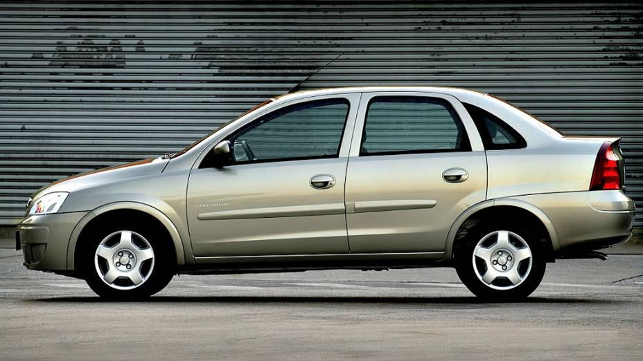 Chevrolet Corsa Sedan: fim de linha no primeiro semestre