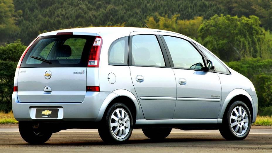 Chevrolet Meriva: substituída pela nova Spin