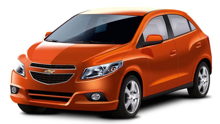 Projeção do novo Chevrolet Onix
