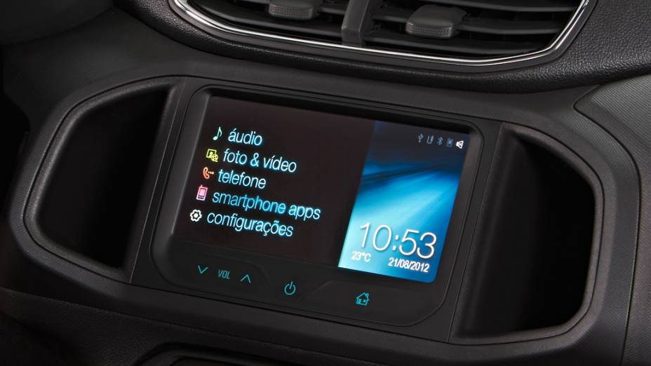 Detalhe do Chevrolet Onix