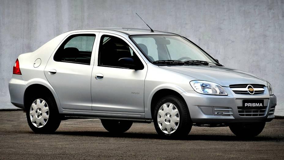 Chevrolet Prisma: produção encerrada em setembro para dar lugar para o Onix sedã, que chega em breve