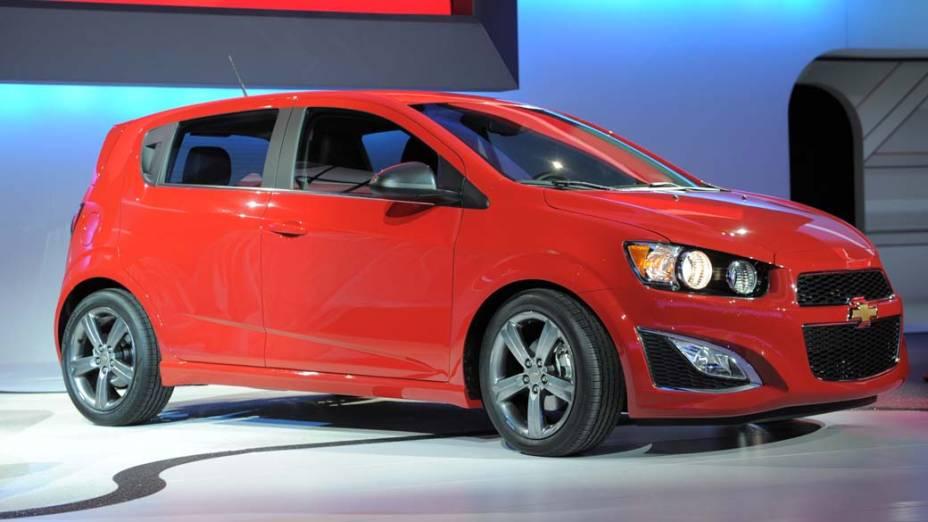 Chevrolet Sonic RS - O hatch da Chevrolet com desempenho mais esportivo. Ponto para o motor turbinado, com 138 cavalos