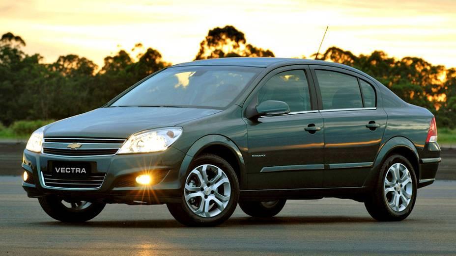 Chevrolet Vectra Sedan: fim de linha no primeiro semestre