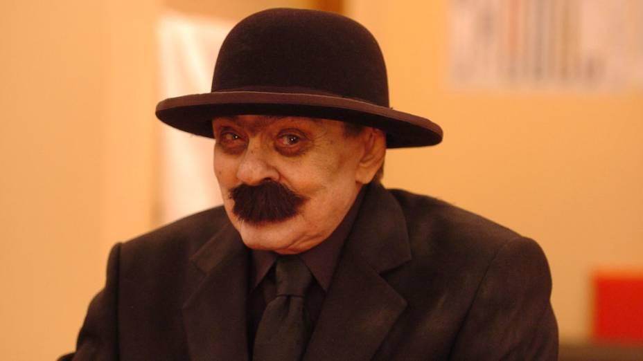 Chico Anysio como o personagem Urubulino.