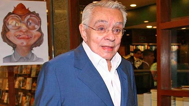 O humorista Chico Anysio, da TV Globo