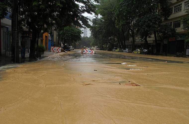 Rua das Laranjeiras.