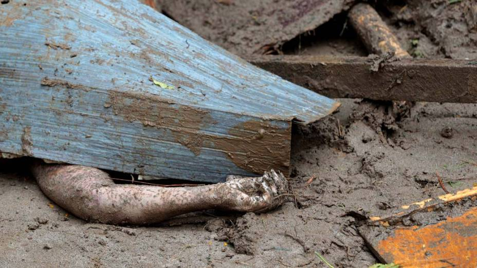 Vítimas das chuvas e deslizamentos que atingiram Teresópolis, Rio de Janeiro - 13/01/2011