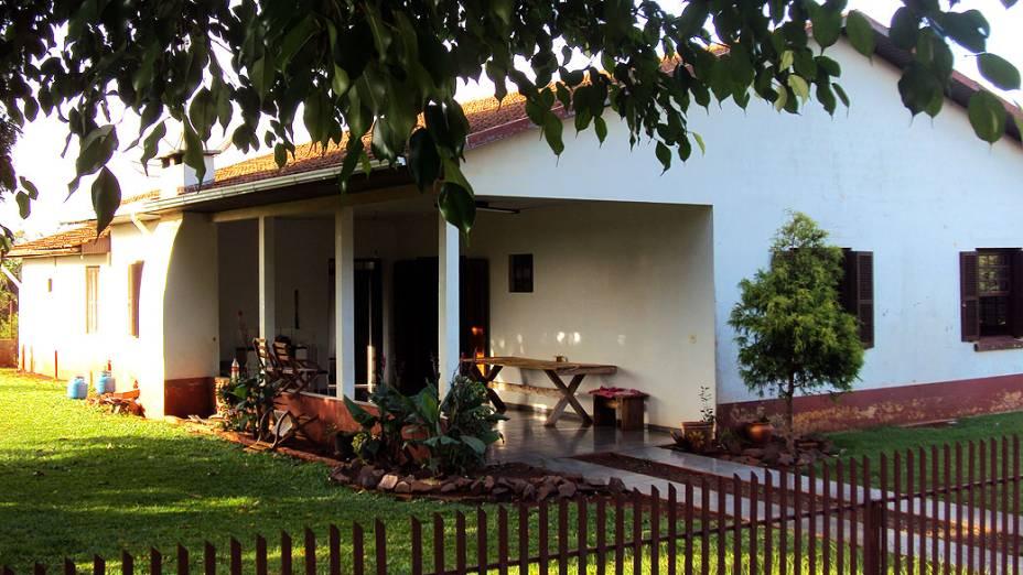 Primeira residência de dom Odilo Scherer e sua família