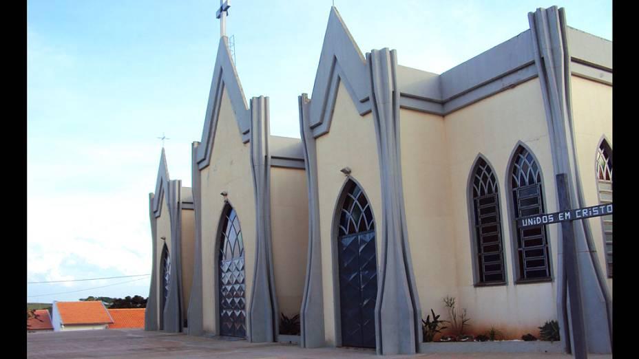 Igreja Nossa Senhora do Rosário, onde dom Odilo Scherer foi ordenado padre, em 1978