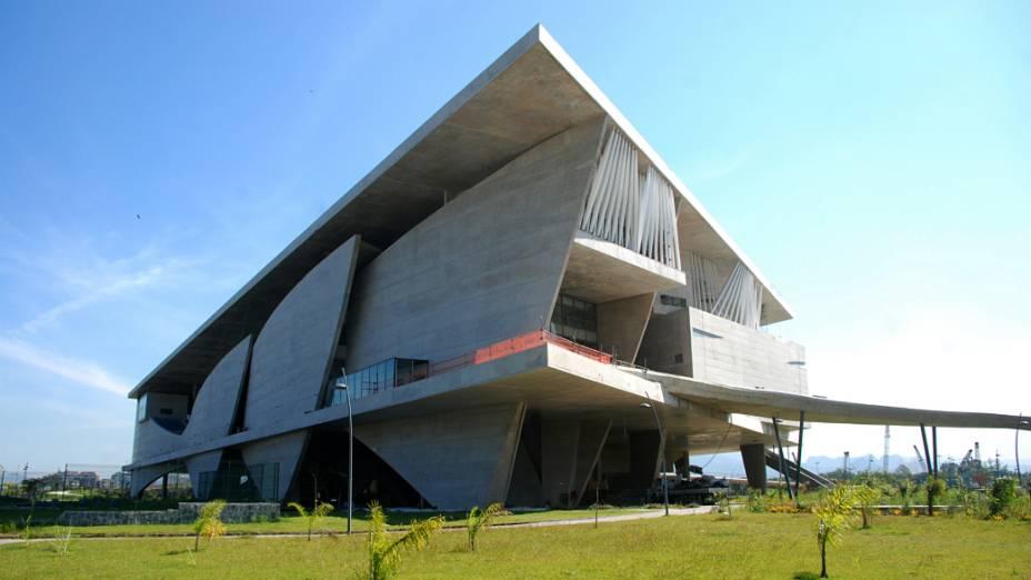 O complexo da Cidade da Música tem 90.000 metros quadrados de área construída