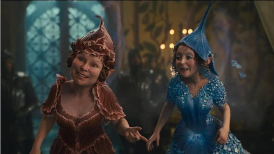 Cenas do filme Malévola, da Disney