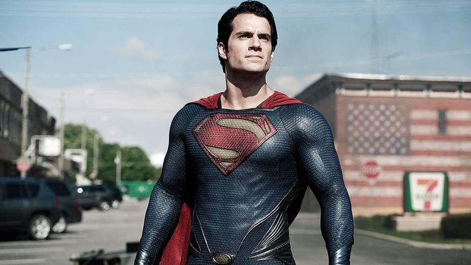 """Clark Kent (Henry Cavill), no filme """"Homem de Aço"""""""