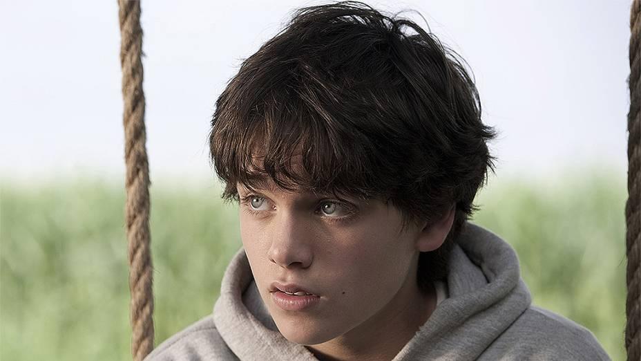 """Clark Kent aos 13 anos (Dylan Sprayberry), no filme """"Homem de Aço"""""""