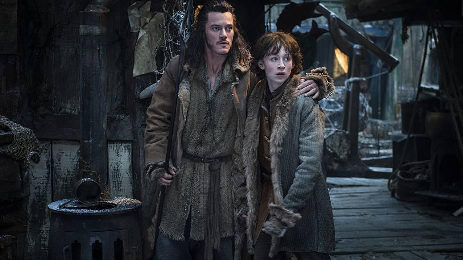 Bard (interpretado pelo ator Luke Evans) em cena do filme O Hobbit - A Desolação de Smaug