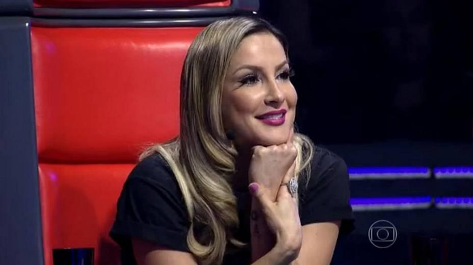 Claudia Leitte, técnica do The Voice Brasil