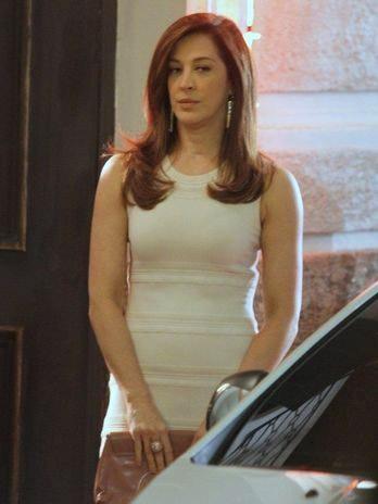Claudia Raia como Livia, a vilã de Salve Jorge