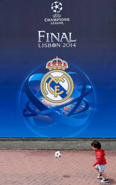 Lisboa no clima da final da Liga dos Campeões 2014, entre Real Madrid e Atlético de Madri
