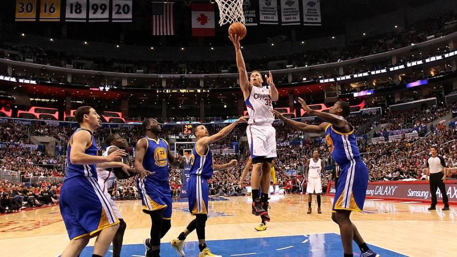 Dentro de quadra, Blake Griffin foi um dos destaques da vitória dos Clippers