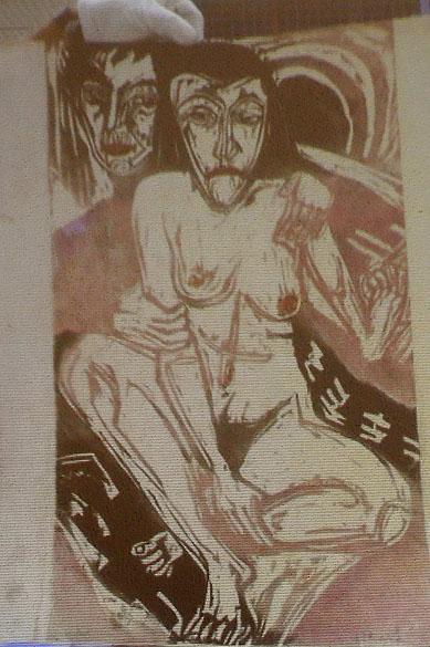 A polícia alemã recuperou 1 400 quadros entre eles obras de Picasso, Matisse, Chagall e Nolde da casa de um homem de 80 anos, em Munique. Reprodução da obra do pintor Ernst Ludwig Kirchner