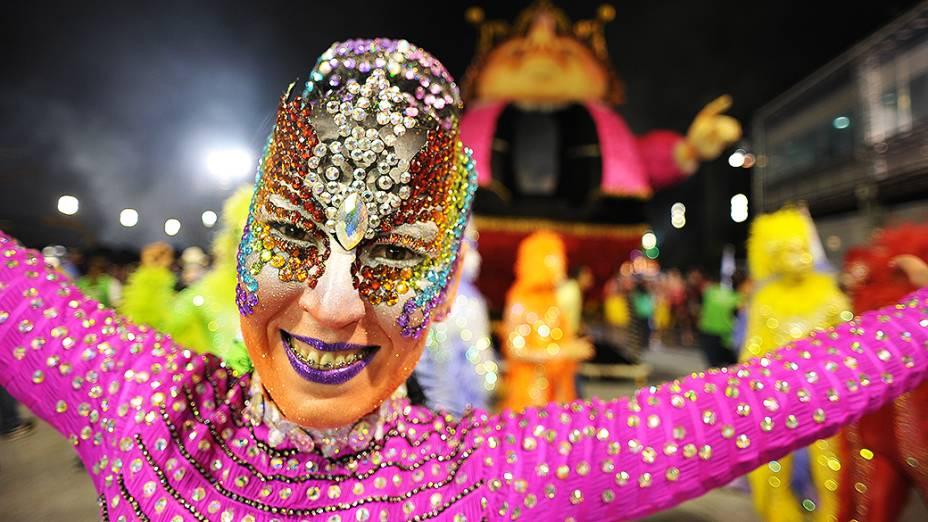 Comissão de frente da Rosas de Ouro, segunda colocada do Carnaval 2013