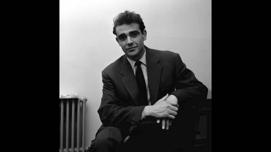 O ator em 1957