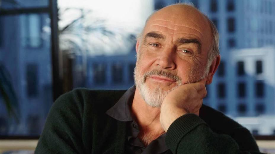 Sean Connery, em 1995. O britânico ganhou o Oscar de melhor ator coadjuvante em 1988 por sua participação em Os Intocáveis, de Brian de Palma
