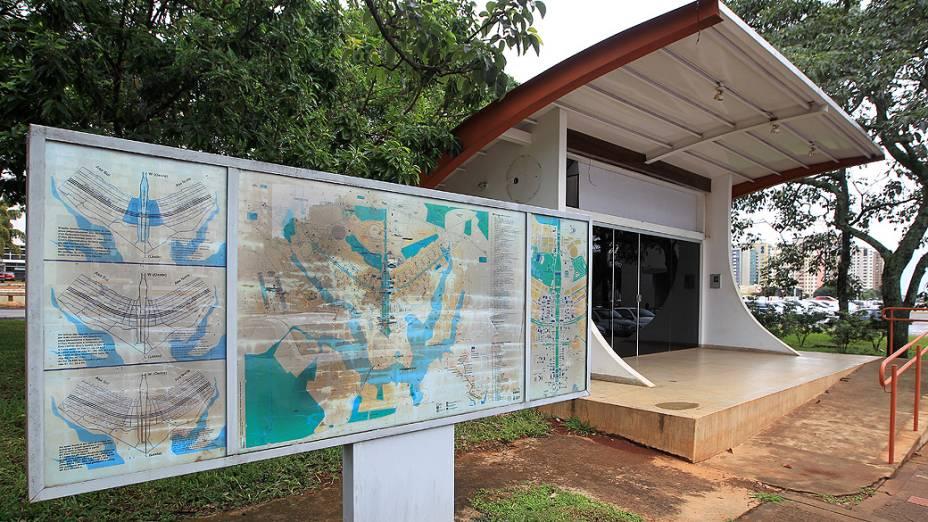 Centro de apoio ao turista fechado. E permanecerá assim