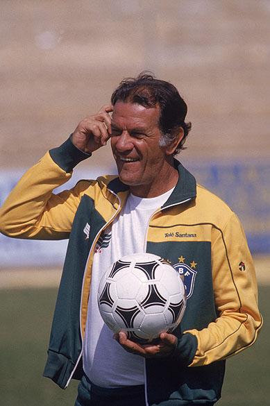 O genial Telê Santana, técnico da seleção na Copa de 1982