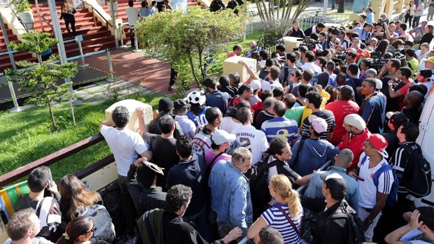Confusão na compra de ingressos no Rio de Janeiro