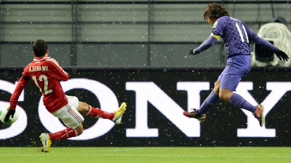 Al-Ahly e Sanfrecce Hiroshima durante partida válida pela Copa Mundial de Clubes 2012