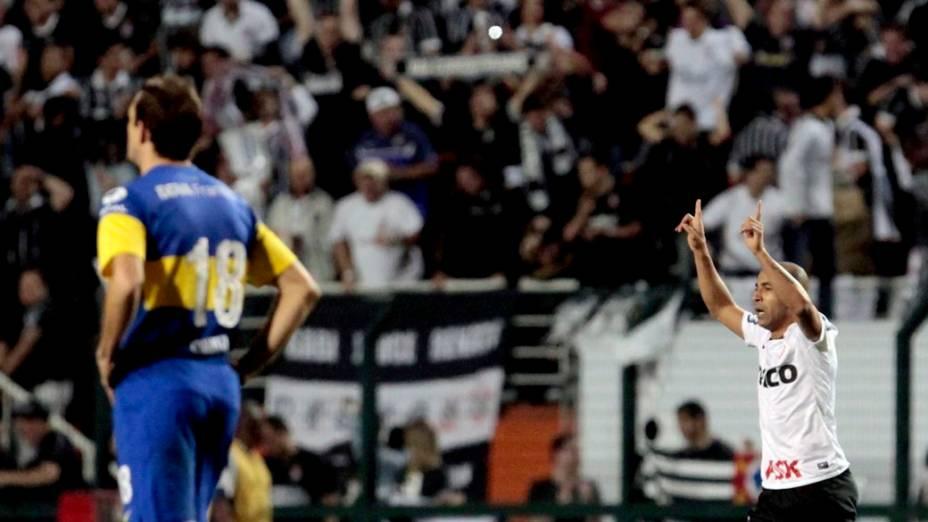Corinthians x Boca Juniors, final da Libertadores 2012