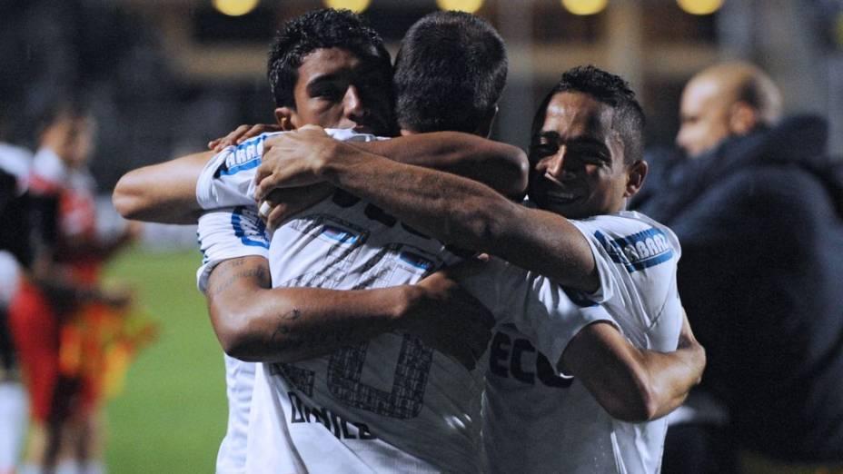 Corinthians x Santos pela Libertadores, no Pacaembu