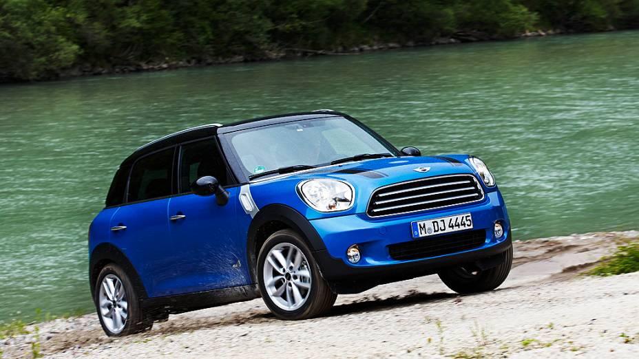 Mini Countryman será montado no Brasil<br>