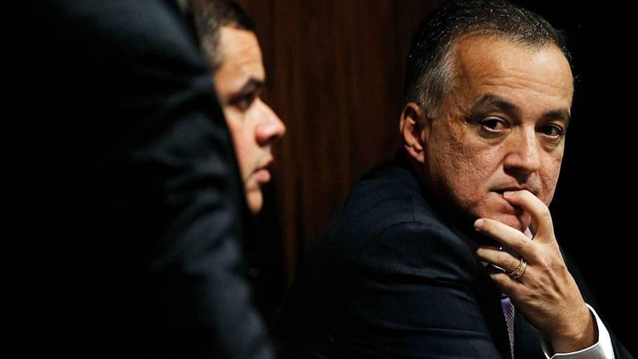 Carlinhos Cachoeira, durante a CPI no Senado Federal