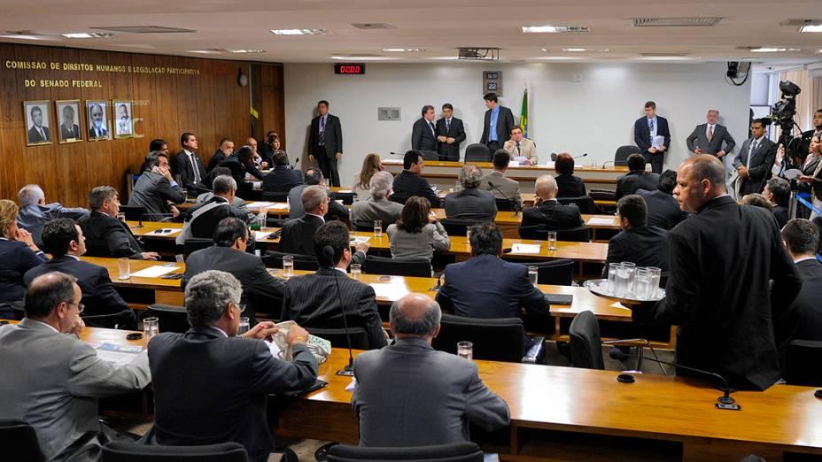 Comissão Parlamentar de Inquérito (CPI) mista se reúne para ouvir o depoimento de Carlinhos Cachoeira