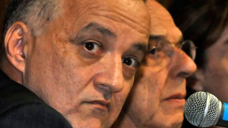 Cachoeira e seu advogado, Márcio Thomaz Bastos