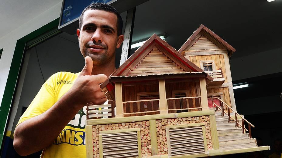 Rodrigo de Toledo Lopes, 32 anos, ex-viciado em Crack no prédio da Missão Batista Cristolândia, na região da cracolândia, no centro de São Paulo
