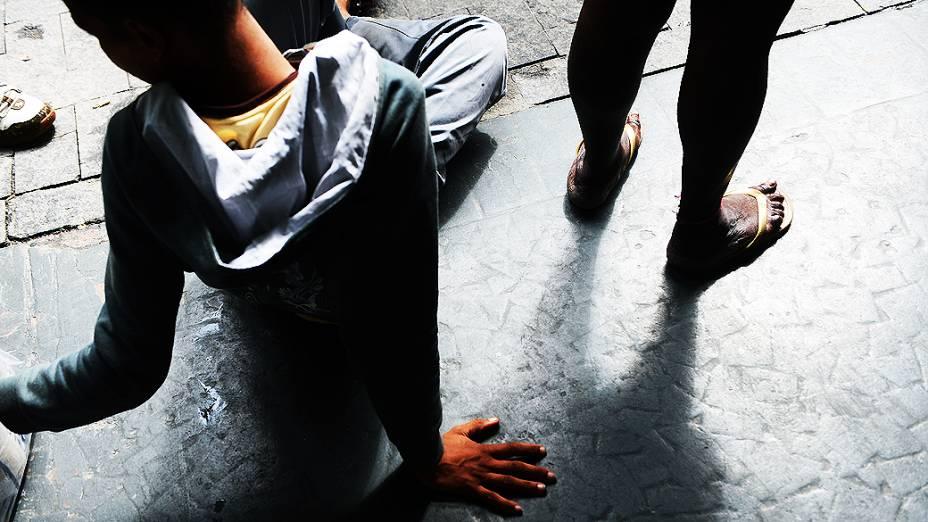 Moradores de rua e usuários da droga são acolhidos na Missão Batista Cristolândia, na cracolândia
