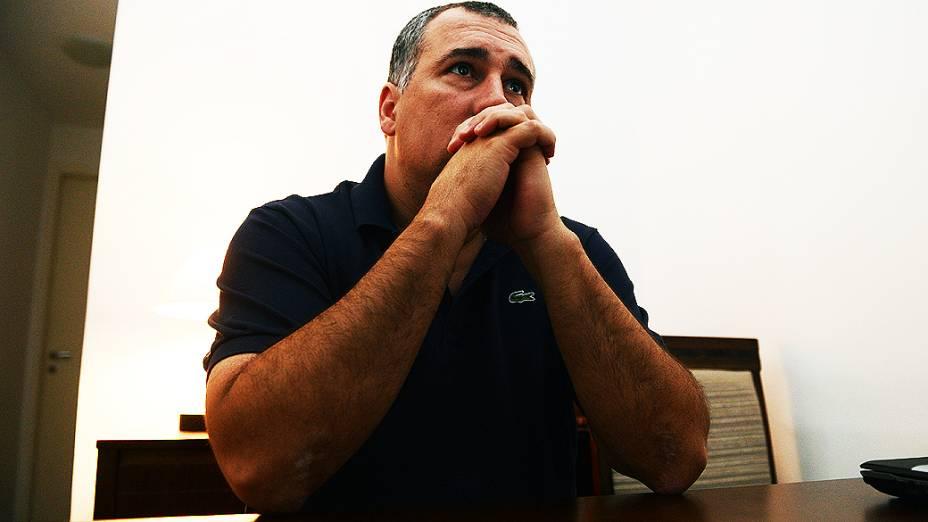 Fabian Nacer, ex-viciado em crack e hoje com pós-graduação em Dependência Química e consultor no combate de drogas