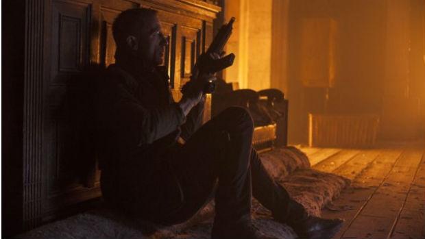 O ator Daniel Craig como James Bond em Skyfall
