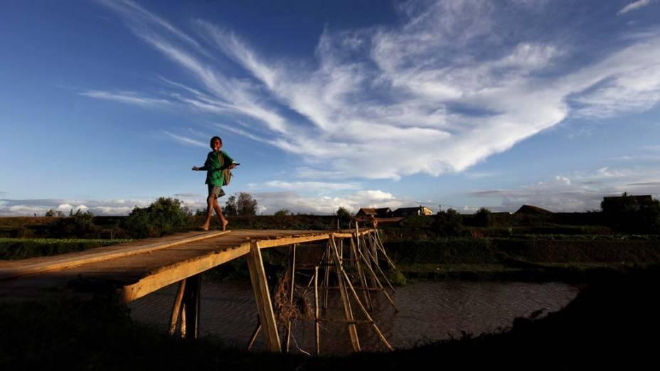Criança em Mamba, Madagascar
