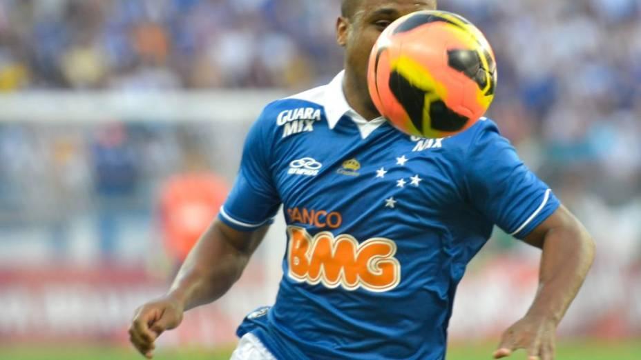 Borges no jogo entre Cruzeiro e Flamengo, pelo Brasileirão 2013