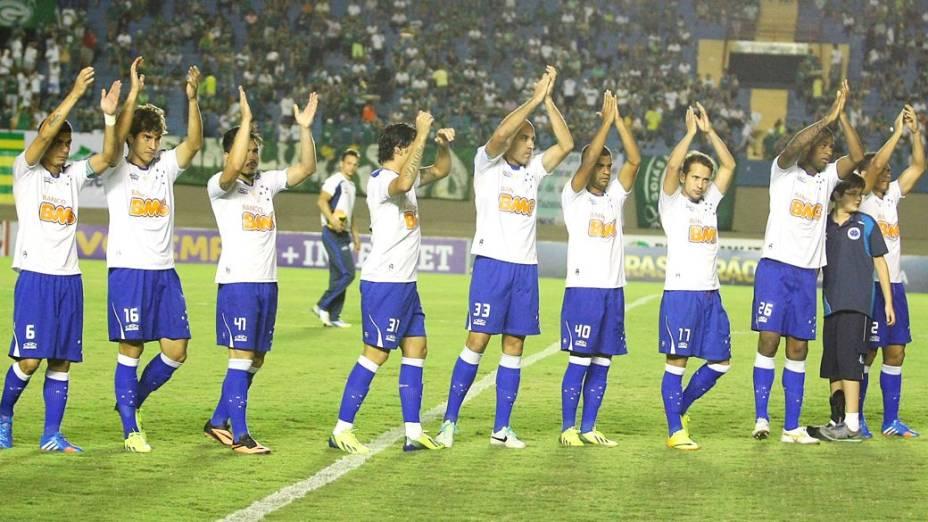 Cruzeiro encara o Goiás, fora de casa, pelo Brasileirão 2013