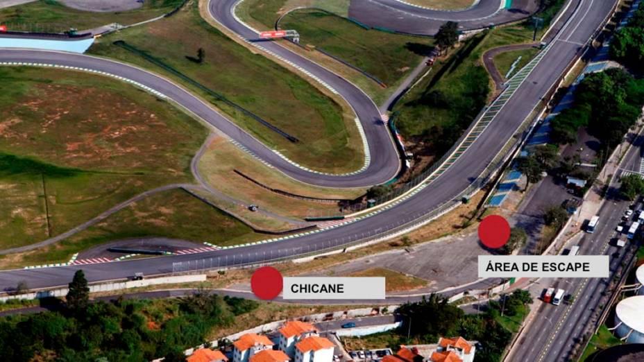 Novo projeto para a curva do café no autódromo de Interlagos
