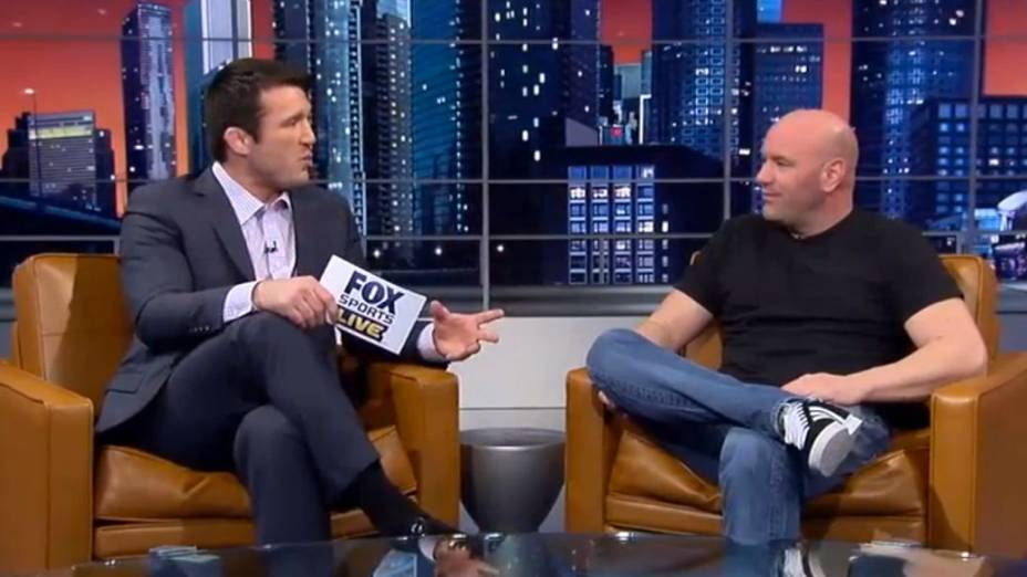 Chael Sonnen e Dana White falam sobre o próximo TUF Brasil na TV americana