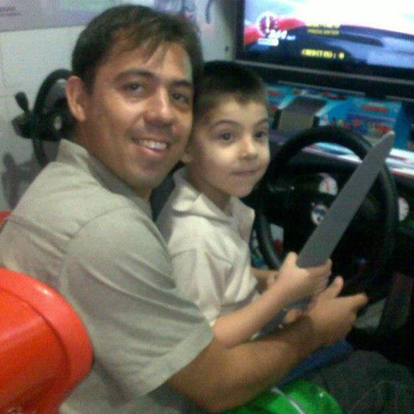 Daniel Knabbem da Rosa 35 anos, natural do município de Taquari (RS), deixa um filho pequeno