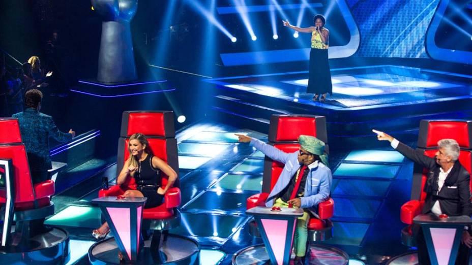 Daniel samba para candidata no The Voice Brasil